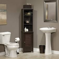 amazon com sauder 414817 bathroom shelves furniture bath