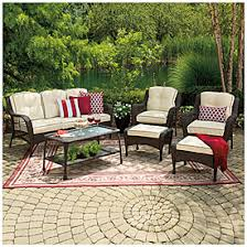 Wilson And Fisher Patio Furniture Manufacturer View Wilson U0026 Fisher Barcelona Resin Wicker 6 Piece Seating Set