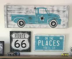 Vintage Ford Truck Decor - rustic truck wall decor woodstockrustic