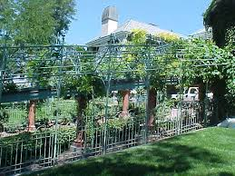 Arbors Trellises Smooth Top Double Rail Fence The Iron Anvil Salt Lake City Utah