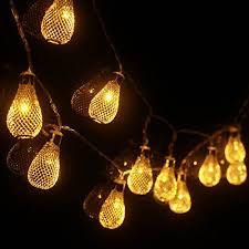 aa battery light bulb 2m elegant drops 20lights led string light warm white aa battery new