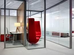 full view glass door enclose frameless glass meadows office interiors
