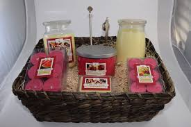 candle gift baskets soy wax candle supreme gift basket with chosen scents
