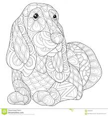 coloring pages beagle coloring pages kids animal beagle
