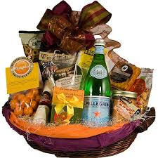 great abundant gourmet and fruit basket at from you flowers inside