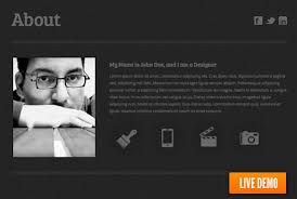 web resume 25 free html resume templates for your successful