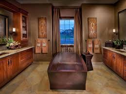 Blue And Brown Bathroom by Tropical Bathroom Decor Pictures Ideas U0026 Tips From Hgtv Hgtv
