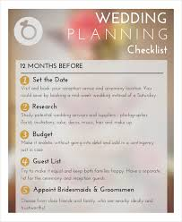 wedding planner guide wedding planner checklist 12 free word pdf psd documents