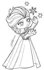 queen elsa coloring exprimartdesign