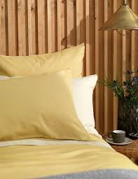 buy yellow cotton duvet covers at secret linen store