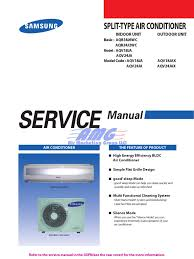 Classic Service Manual Aqv18 24 Air Conditioning Heat Pump