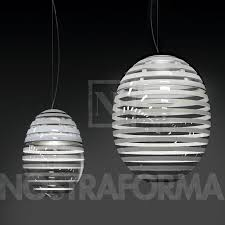 Led Pendant Light Fixtures by Artemide Incalmo Sospensione Led Pendant Lamp Modern And