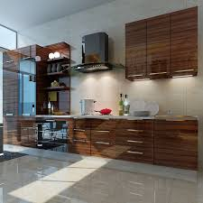 high gloss acrylic kitchen cabinets wood grain high gloss acrylic mdf panel for kitchen cabinet door