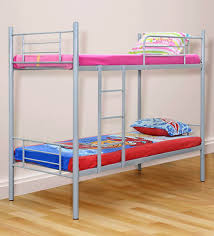 Buy Rome Kids Bunk Bed In Grey Finish By FurnitureKraft Online - Kids bunk beds furniture