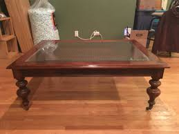 Ethan Allen Coffee Table by Ethan Allen Coffee Table Ethan Allen Dark Antiqued Pine Old
