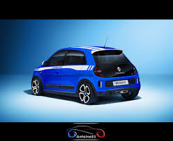 renault twingo 2014 renault twingo 3 rs gordini rear by antoine51 on deviantart