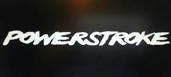 Ford Diesel Truck Decals - powerstroke diesel decal for windshield or any other place desired