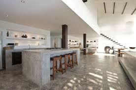 cuisine en beton beton kann in der küche auch für ein mediterranes flair sorgen