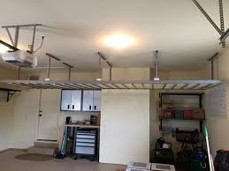 overhead storage racks huntsville madison garage storage and