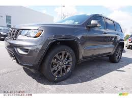 2016 jeep grand cherokee black 2016 jeep grand cherokee limited 75th anniversary edition in