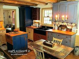 primitive kitchen island primitive kitchen decorating ideas fascinating primitive kitchen