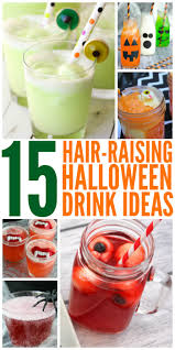 hair raising halloween drink ideas