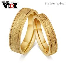 golden gold rings images Wholesale vintage couple gold ring for men and women dull polish jpg