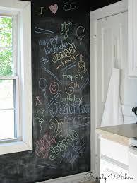 Chalkboard Kitchen Backsplash Beauty 4 Ashes Chalkboard Wall Diy Art