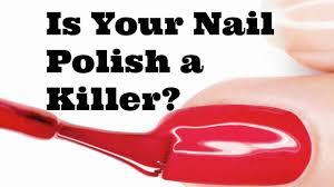 is your nail polish toxic u0026 natural alternatives youtube