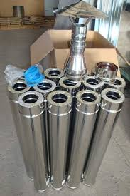 prezzi canne fumarie in acciaio per camini tubi inox coibentati canna fumaria stufa a benevento kijiji