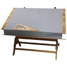 Drafting Table With Light Box with Rare Hamilton Lightbox Drafting Table And Drawer Cast Iron And Oak