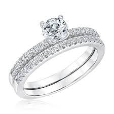 diamond bridal sets exclusive reeds econic lab grown diamond bridal set 1ctw
