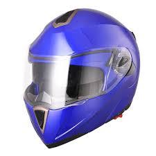 purple motocross helmet dot full face flip up motorcycle helmet dual visor bike race size