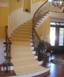 Curved Stairs Design Grand Staircase Custom Staircase Curved Stairs