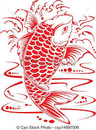 koi design koi design in vector clipart