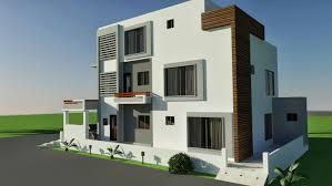 corner house plans 3d front elevation 10 marla corner house plan design of tariq