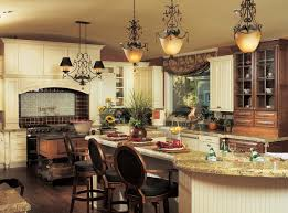 Decorating A Chandelier Kitchen Glamor And Classic Interior Decorating Ideas Fitted