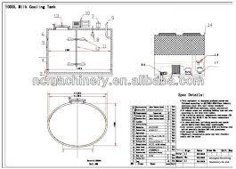 design of milk storage tank milk cooler