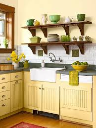 yellow kitchen wood cabinets 50 bright green and yellow kitchen designs digsdigs