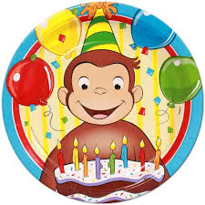 curious george birthday party curious george party supplies