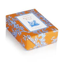 paper wrapped soap seda tulip classic toile paper wrapped