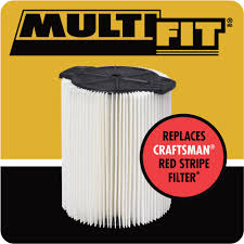 crafstman craftsman shop vac replacement filter takes the place if your red