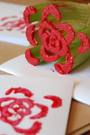 easy celery rose prints u2013 my little keepsake