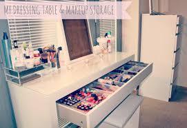 ikea malm dressing table ikea antonius basket inserts makeup