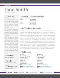 sample modern resume innovation idea modern resume templates 3 64