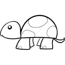 coloring fancy turtle easy draw fjl kids step