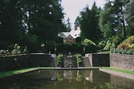 oregon outdoor wedding venues lewis clark college wedding danielle nick