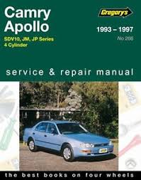 1993 toyota camry repair manual gregory s service repair manual toyota camry holden apollo jm jp