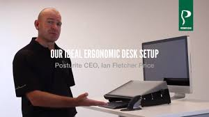 Ergonomic Computer Desk Setup Our Ideal Ergonomic Desk Set Up Youtube