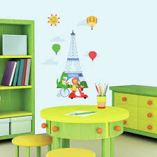 roommates paris wall decor kmart com animals in peel and stick